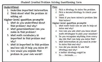 Problem Solving Higher Level Questions