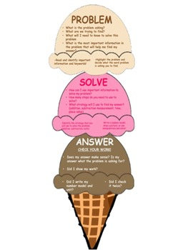 Problem Solving Ice Cream Cone