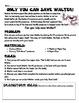 Scientific Method Inquiry Challenge-save a gummy worm w/ simple materials