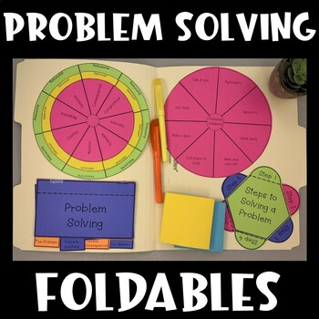 Problem Solving Interactive Notebook (Social Thinking)