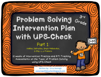 Problem Solving Intervention Plan with UPS-Check for 3rd G