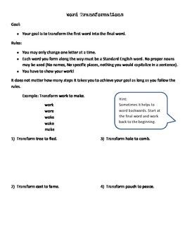 Problem Solving: Introduction to Multiple Solutions