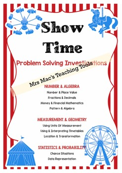 Design - Problem Solving - Show Bags - Maths - Carnival - Royal Show