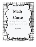 Problem Solving- I've been Cursed! Math Cursed