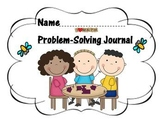Problem-Solving Journal Covers and Student Practice Sheet