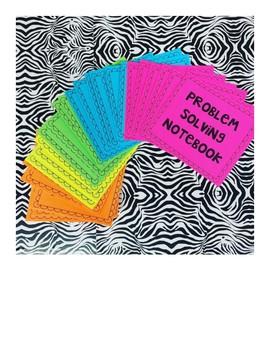 Problem Solving Journal Labels