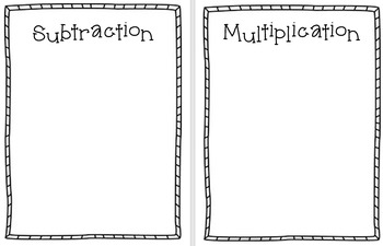Problem Solving Key Word Station/Activity