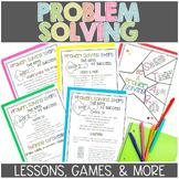 3rd Grade Problem Solving Unit for Math Workshop