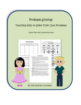 Problem Solving: Lesson to teach kids how to solve problems