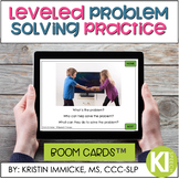 Problem Solving Leveled Practice BOOM CARD™ Deck