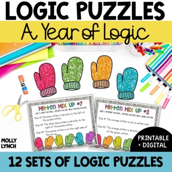 Problem Solving Bundle {Logic Puzzles}