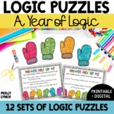 Problem Solving Bundle {Logic Puzzles}