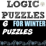 Winter Math Logic Puzzles