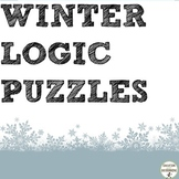 Winter Math Logic Puzzles for Winter Math UPATED