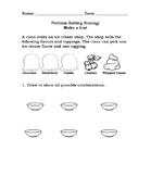 Problem Solving Make an Organized List 2.OA.1