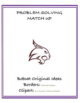 Problem Solving Match Up