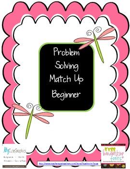 Problem Solving Match Up Beginner