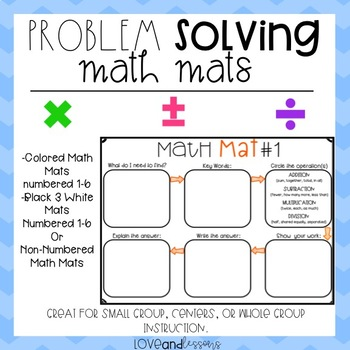 Problem Solving Math Mat