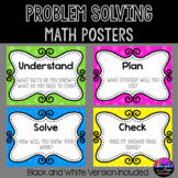 Problem Solving Math Posters