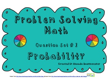 Problem Solving Math: Probability