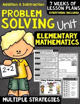 Problem Solving Math Unit