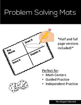 Problem Solving Mats