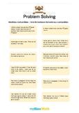 Problem Solving Methods 1 - Identifying Word Problems -1st grade