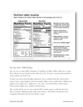 Problem Solving:  Mission Nutrition - Article 2