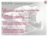 Problem Solving Model (R.O.A.R.)