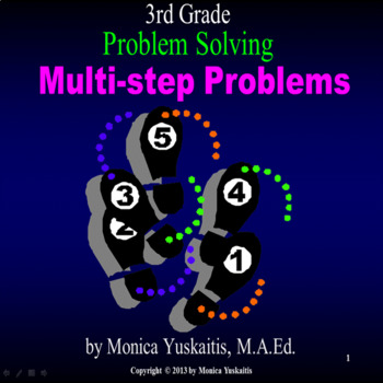 Common Core 3rd - Problem Solving - Multi-Step Problems