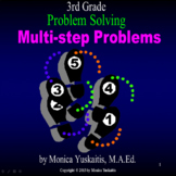 3rd Grade Problem Solving - Multi-Step Problems Powerpoint Lesson