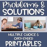 Problem Solving Printables Speech Language Therapy Social Skills