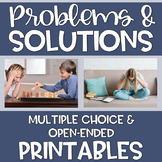 Distance Learning Problem Solving Printables Speech Langua