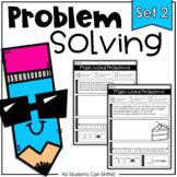 Problem Solving - NO Prep Story Problems