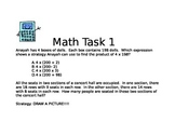 Problem Solving: Number and Operations and Multiplication