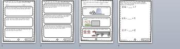 Problem Solving OA.2, OA.4, OA.6 Unit pre and Post Assessment