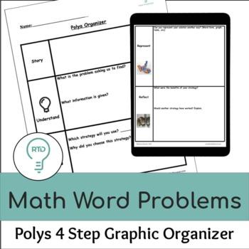 Problem-Solving Organizer (Polya's Process)