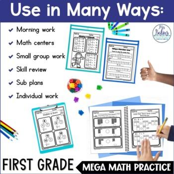 Problem Solving Part-Part-Whole Whole Unknown Mega Math Practice 1.OA.1