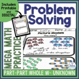 Problem Solving Part-Part-Whole Whole Unknown Mega Math Pr