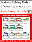 Problem Solving Path for 2nd Grade/ Year 3: Year Long Bund