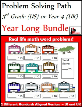 Problem Solving Path for 3rd Grade/ Year 4: Year Long Plan