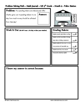 September Problem Solving Path: Real Life Word Problems for 5th Grade / Year 6