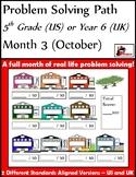 October Problem Solving Path: Real Life Problem Solving fo