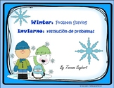 Problem Solving: Spanish & English: Penguins, Polar Bear, etc..
