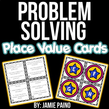 Problem Solving Place Value Cards