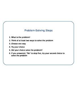 Problem Solving Plan