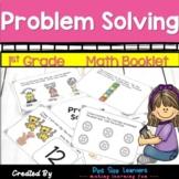 Problem Solving | Math Journals | First Grade