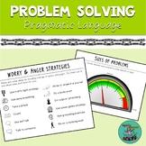 Problem Solving: Pragmatic, social skills, speech, size, TELETHERAPY