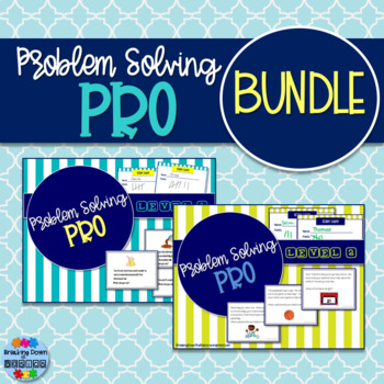 Problem-Solving Pro BUNDLE {2 Problem-Solving Card Games!}