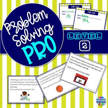 Problem-Solving Pro: Level 2 {A Problem Solving Card Game}